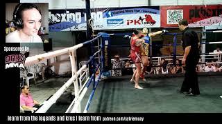 Fight 248 - Sylvie Petchrungruang vs Nang Hong Liangprasert w/ commentary