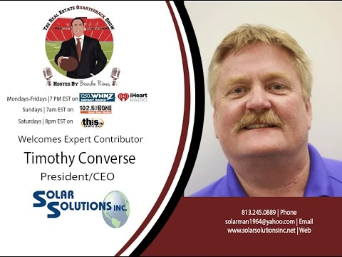 THE REAL ESTATE QUARTERBACK SHOW with Shawn Yesner, and Timothy Converse, 03 16 2016
