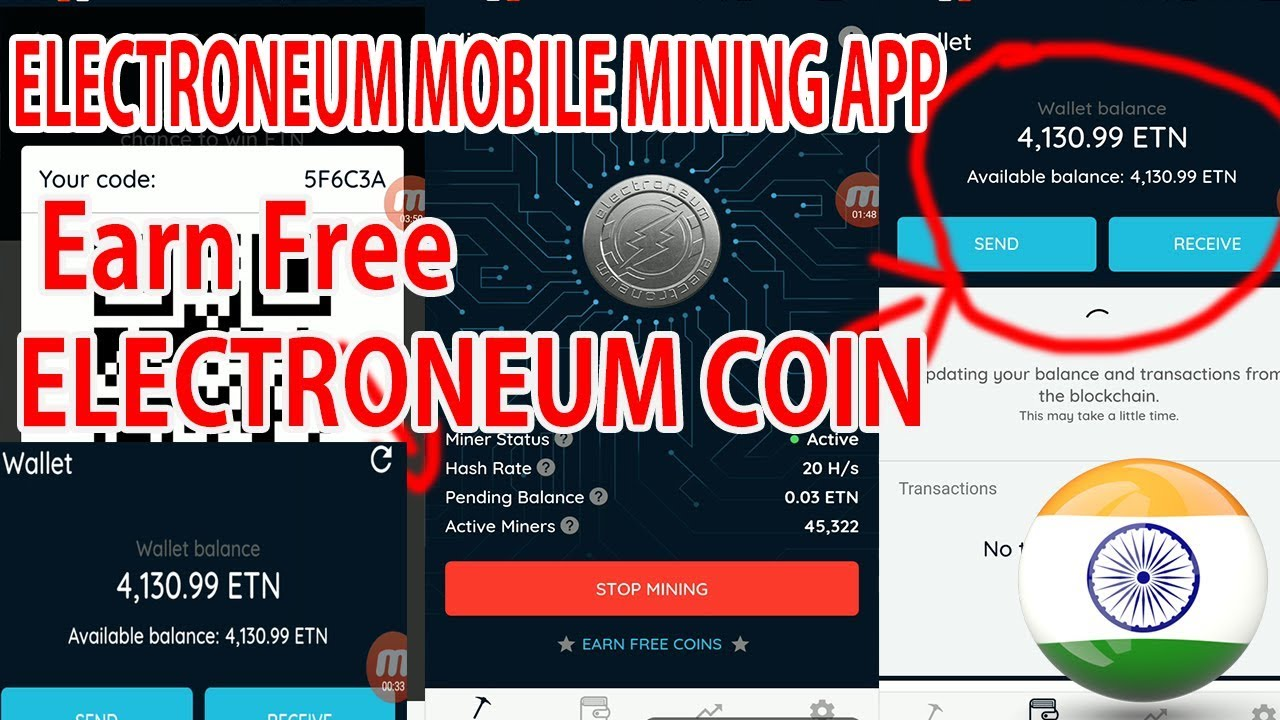 How To Mobile Mine Electroneum Powerful 6 Gpu Ethereum Zcash
