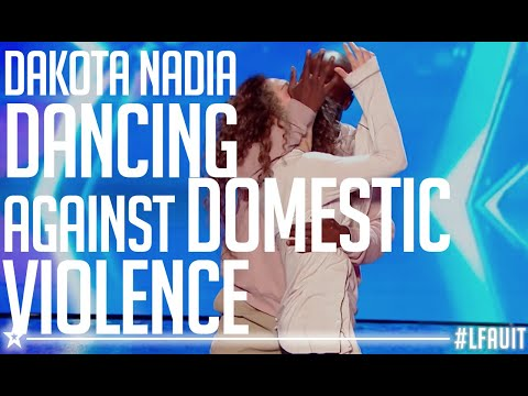 Dakota & Nadia performed an AMAZING dance against domestic violence | France's Got Talent 2018