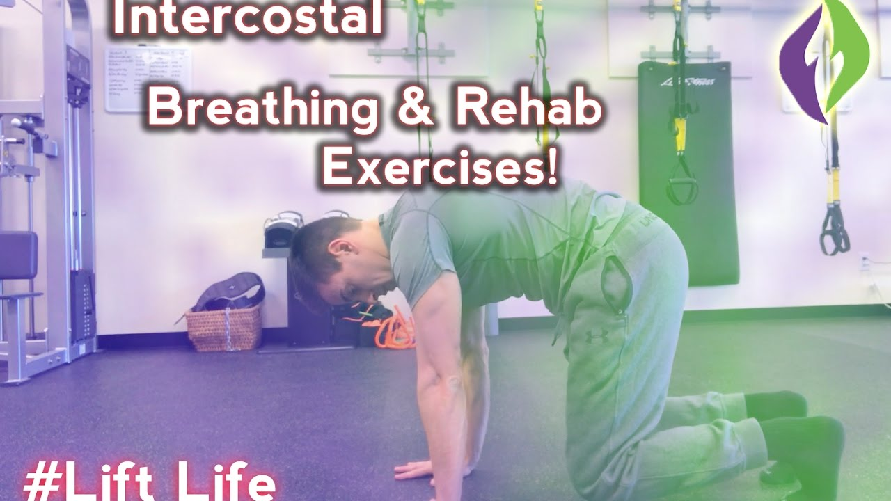 Intercostal Muscle Strain Treatment Exercises for Rib Cage - YouTube