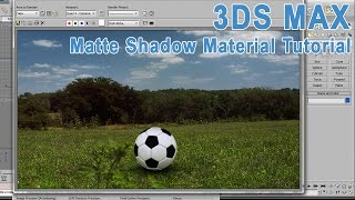 3DS Max  Matte Shadow Material