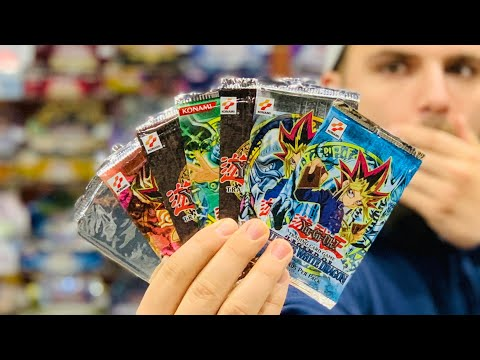 Opening The FIRST Yu-Gi-Oh! Packs EVER Made | 2002