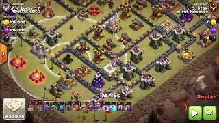 Clash Of Clans TH11 Dragon (Drag) Bat attack 3 Star strategy