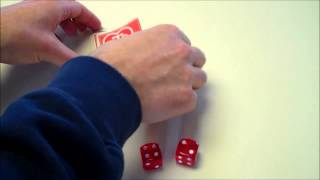 Math Magic Card Trick - Rolling 3 Dice