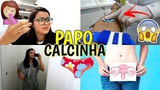 FERIDA NO ÚTERO, FAZENDO EXAMES, DORES NA RELAÇÃO ♥ - Bruna Paula