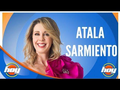 ¡Atala Sarmiento por primera vez en Hoy!