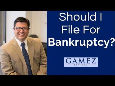 Should I File For Bankruptcy | San Diego Bankruptcy Attorney Help