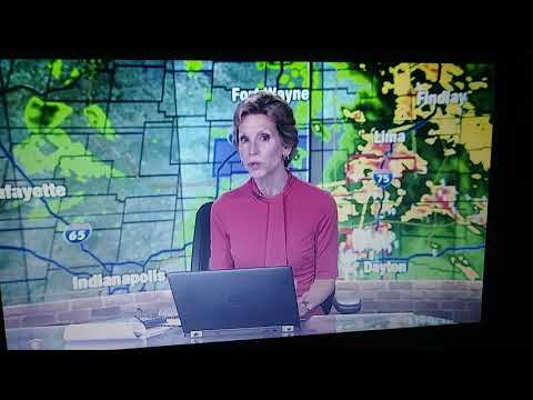 McCall Vrydaghs Getting Emotional During Tornado Warning For Dayton Ohio Whio T.v.