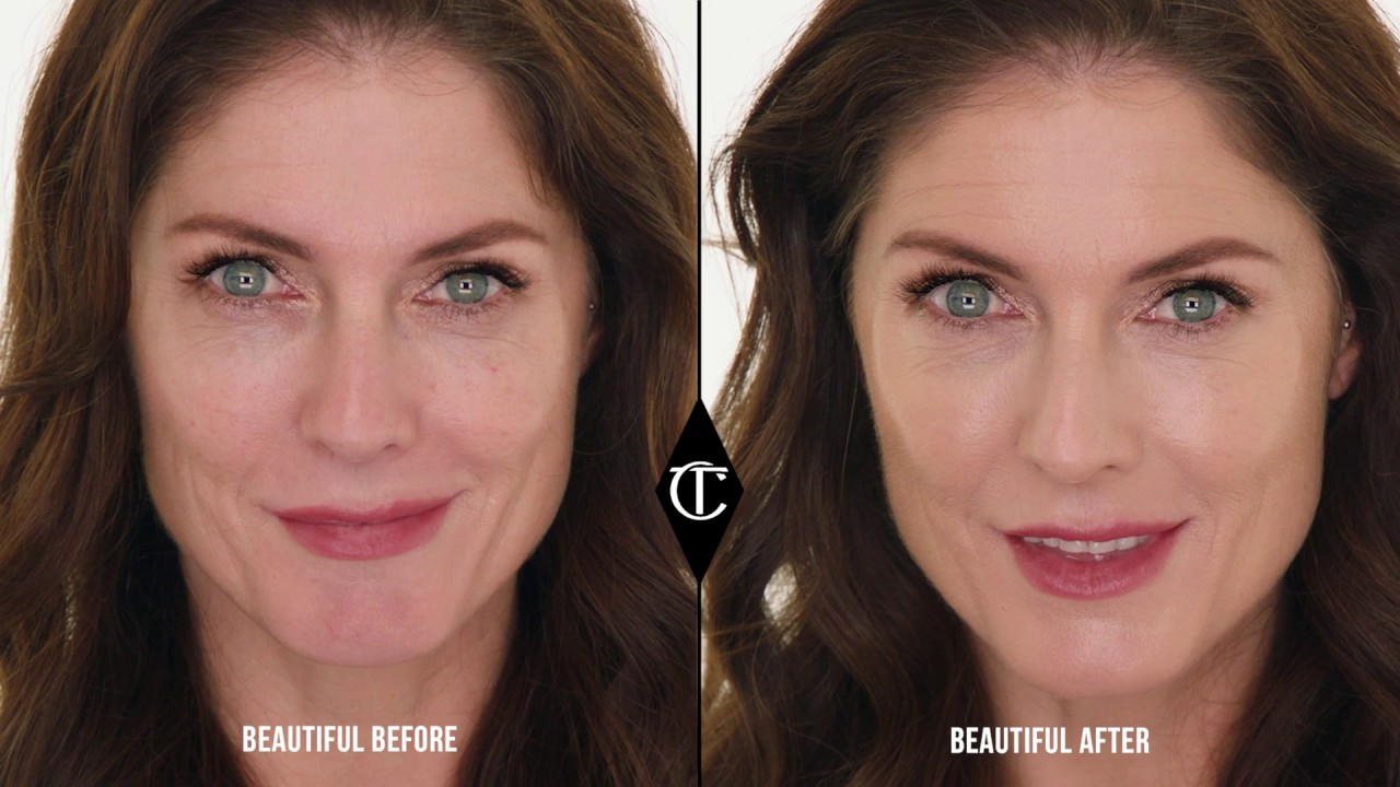 How to use Hollywood Filter to BOOST your complexion | Charlotte Tilbury - YouTube