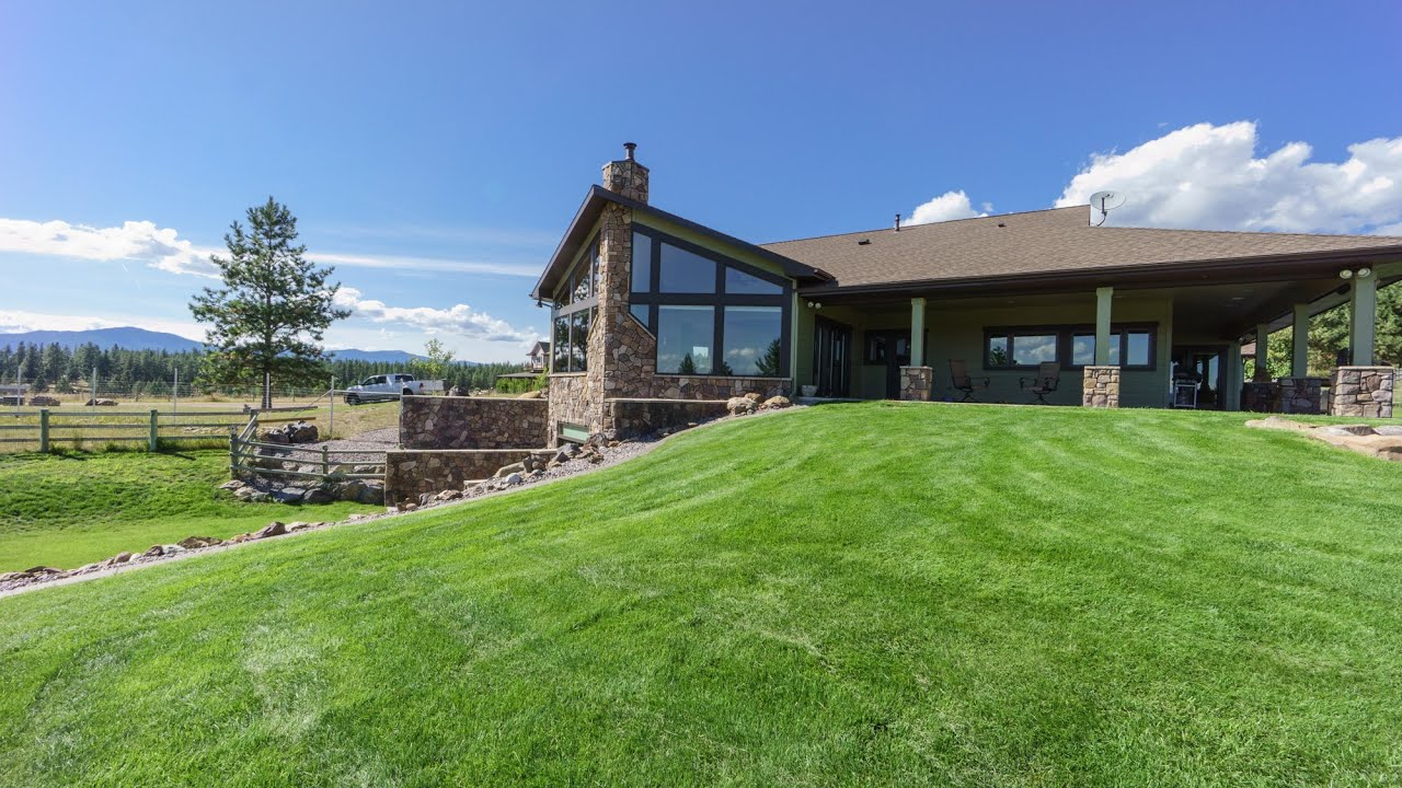 17784 monarch lane frenchtown mt montana ranch horse for Montana home builders