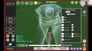 Capto Putting and 3D analysis