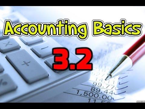 Accounting Basics 3.2: Amortization / Depreciation