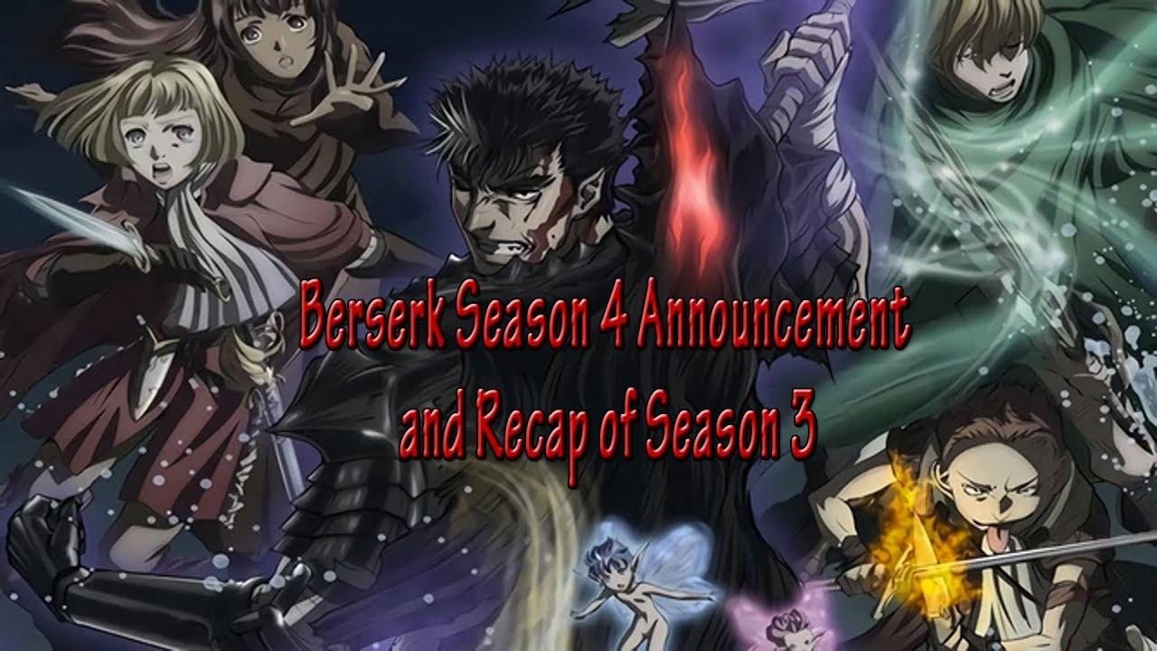 Berserk Season 4 Announcement