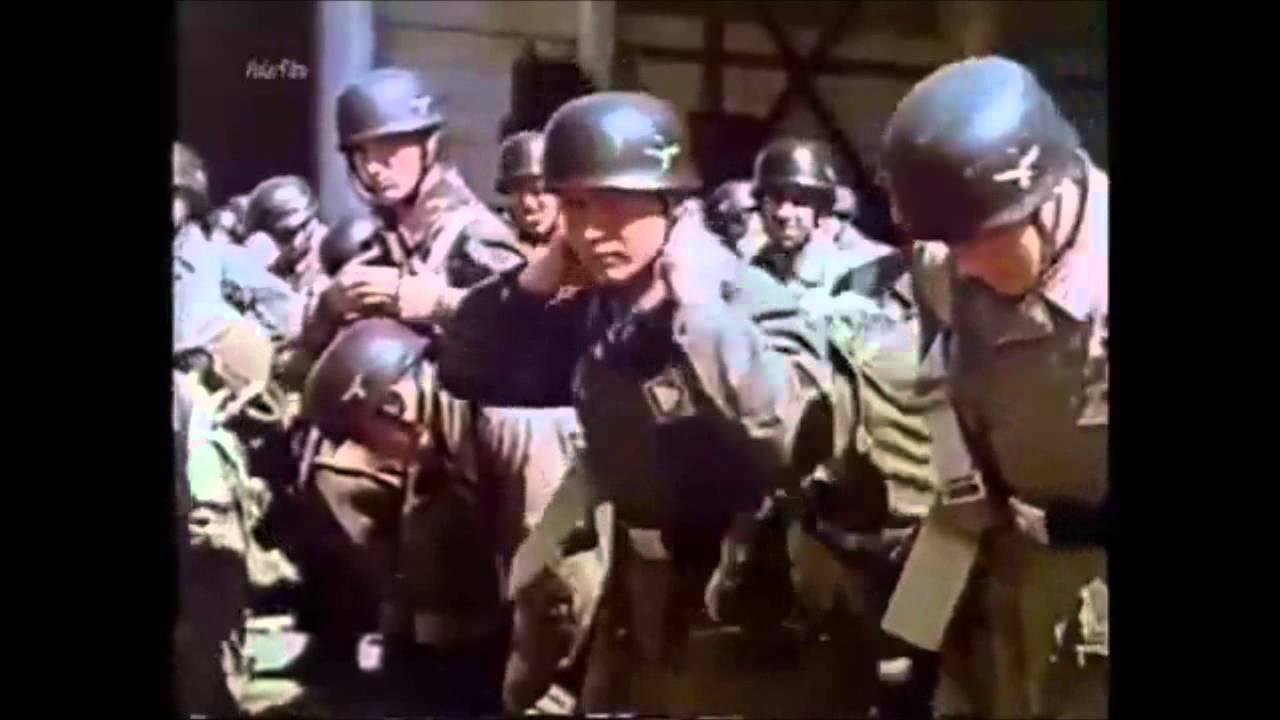 wwii in colour german paratroopers fallschirmj 228 ger