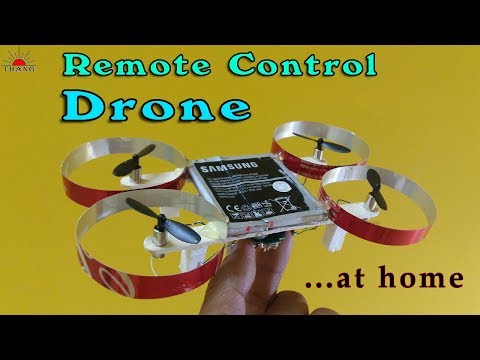 How to make Remote Control Drone at home very easy that 100% fly