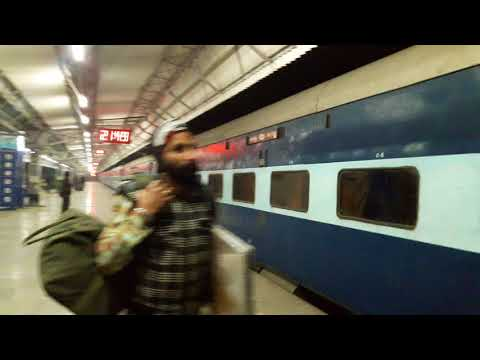 22446 - Amritsar - Kanpur Central Superfast Express at Beas Junction Railway Station late by 8