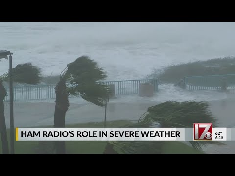 Ham radio operators spring into action when weather becomes dangerous