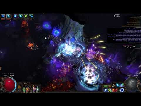 [Path of Exile] 3.5 - Wander Pathfinder - Shaped Underground Sea (T11)