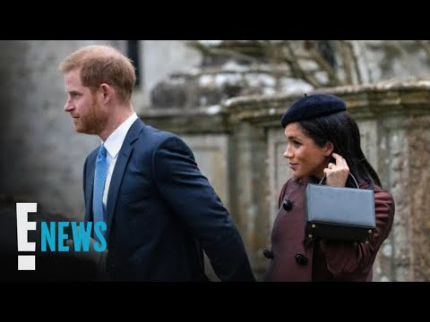 Meghan Markle & Prince Harry Attend Christening Together | E! News