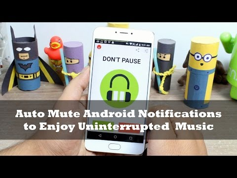 How to Auto Mute Android Notifications to Enjoy Uninterrupted Music