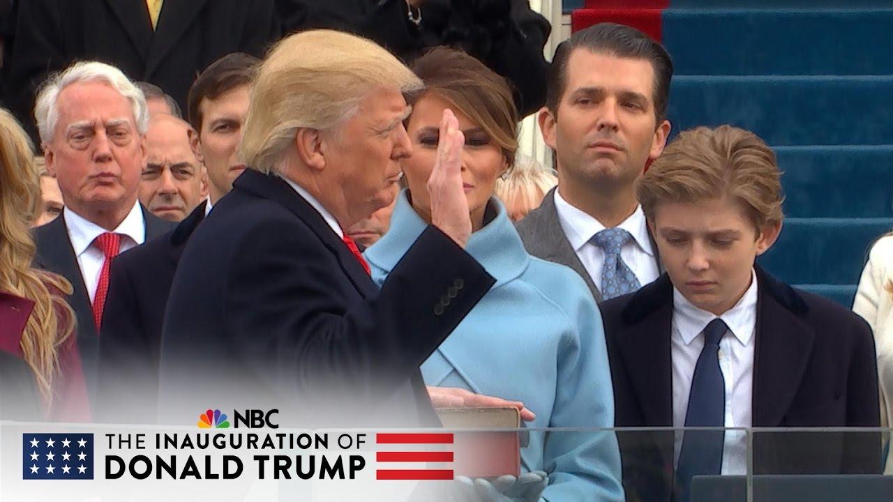 US President oath 53