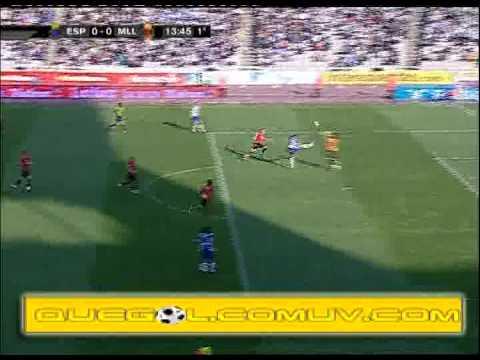 Gol Anulado - Espanyol 0-0 Mallorca (Liga BBVA)
