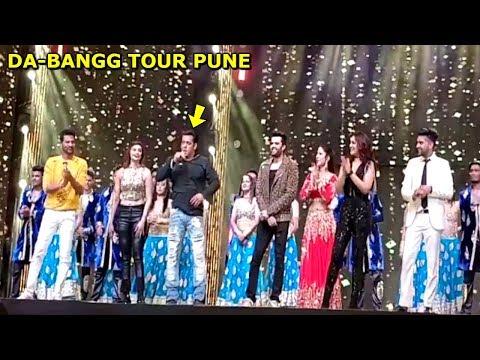 Salman Khan With DA-BANGG Team Bids a GRAND Goodbye To Pune After Concert | Katrina Kaif, Sonakshi