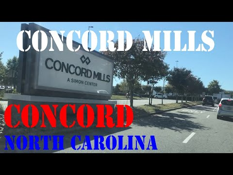 Concord Neighborhood Drive - Concord Mills And Charlotte Motor Speedway Area
