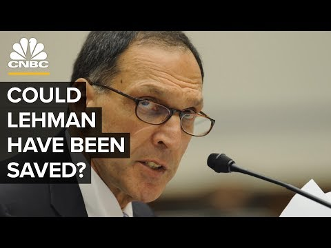 How Lehman Had Months To Save Itself | Crisis On Wall Street