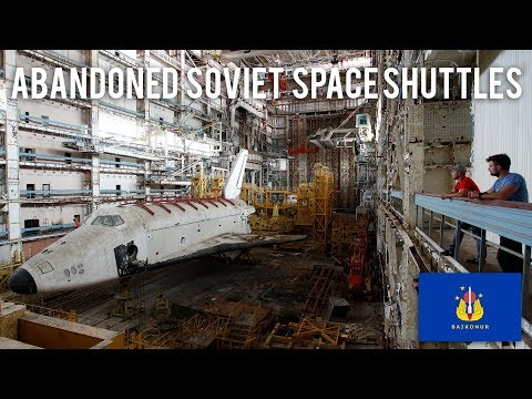 Abandoned Soviet Space Shuttles (Buran) in Baikonur