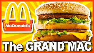 connectYoutube - McDonald's GRAND MAC Review (with PICKLES) in Buffalo New York