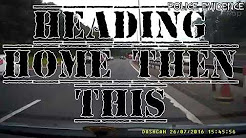 Dangerous Driving Angry Passenger M8 Glasgow