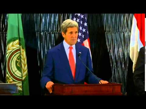 Secretary Kerry Delivers Remarks in Egypt