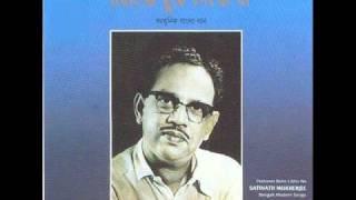 Jibone Jadi Dweep Jalate Nahi Paro -Satinath Mukherjee