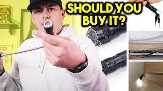 BEST Flashlight Gadget Testing Vibelite - Good Gifts for Men!!
