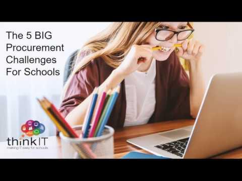 Neil Watkins - 5 Big Procurement Challenges for Schools