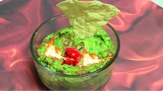 Hellfire Guacamole - Spicy Hot Avocado Recipe By Bhavna