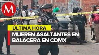 Balacera deja un muerto y dos heridos en Gustavo A. Madero