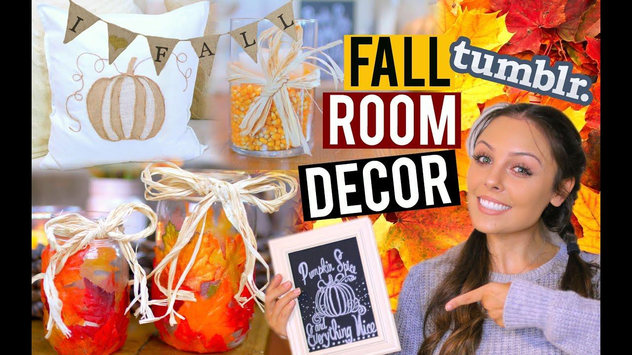 diy fall room decor tumblr pinterest inspired kristi anne beil