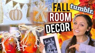 Diy Fall Room Decor 2015! Tumblr + Pinterest Inspired! | Kristi-anne Beil