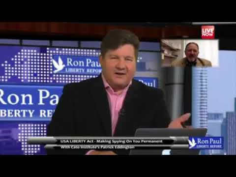 Ron Paul Liberty Clip   Orwellian Mass Surveillance In America