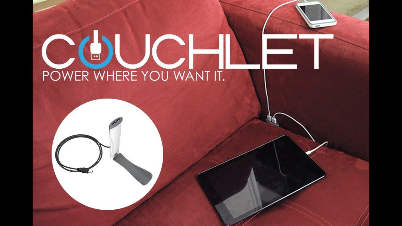 画像: Couchlet: Power where you want it www.youtube.com