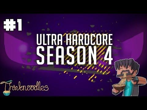 Minecraft: Ultra Hardcore Season 4 - Episode 1 - I'm Literally Shaking!!