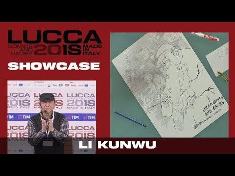[Lucca Comics & Games] Showcase Li Kunwu