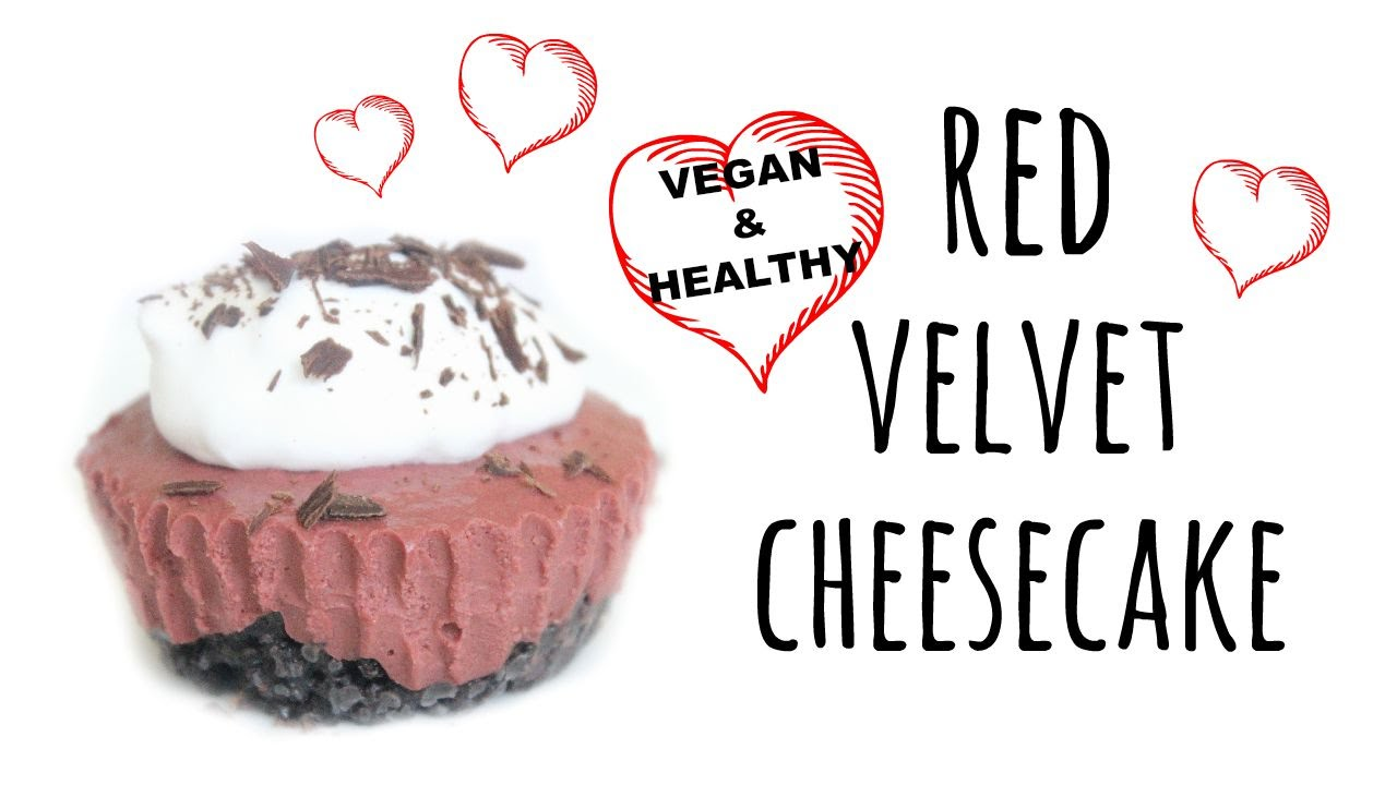 How to Make Red Velvet Cheesecake | Vegan - YouTube