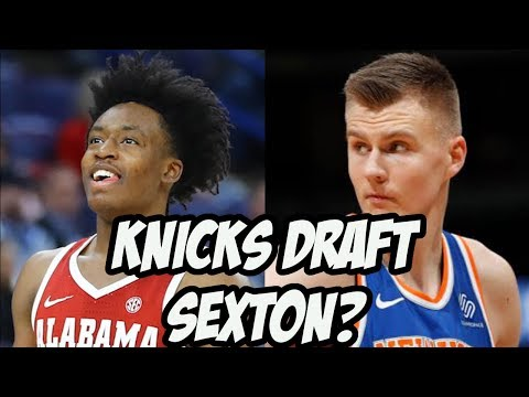 Is Collin Sexton the Answer For The Knicks? | 2018 NBA Draft