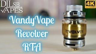 Revolver RTA Review & Coil Build tutorial