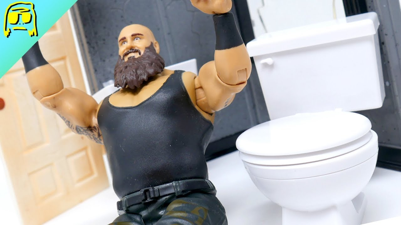 Hardcore Toilet for WWE Wrestling Action Figures Figures Toy Company