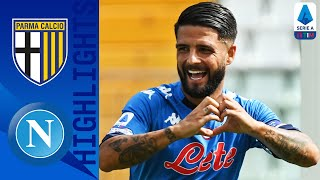 Parma 0 2 Napoli Mertens and Insigne Seal Winning Start for Napoli as Osimhen Debuts Serie A TIM